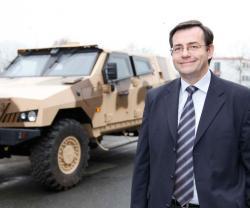 Gérard Amiel Appointed CEO of Panhard Defense