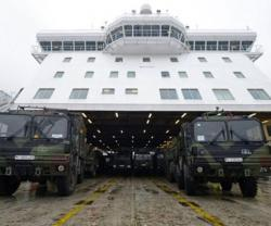 Dutch Patriot Missiles Begin Their Journey to Turkey