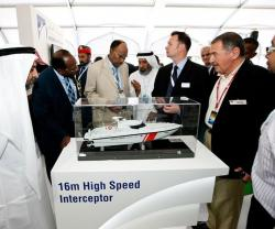 Space Sells Out for NAVDEX 2013
