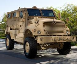 Navistar Demos MaxxPro® Recovery Vehicle at CANSEC