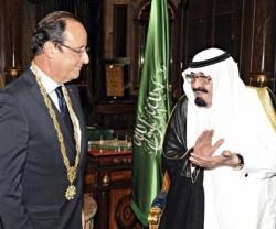 French President, Saudi King Discuss Regional Issues