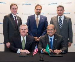 Boeing, Saudia Sign Broad Collaboration Agreement