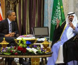 "U.S.-Saudi Arabia Vow to Remain ""Strategic Allies"""