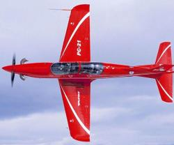 Saab, Pilatus Sign MoU for Possible PC-21 Training Solutions