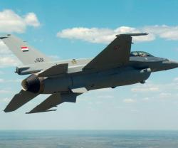 First Iraqi F-16 Fighting Falcon Completes First Flight