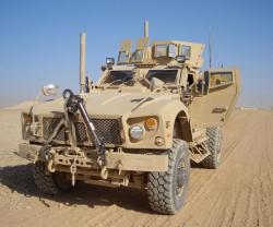 Oshkosh Integrates TerraMax, M-ATV for Route-Clearance