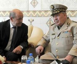 Algeria President, Army Chief Meet French Defense Minister