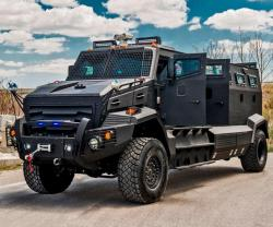 INKAS® Introduces Huron Armored Personnel Carrier