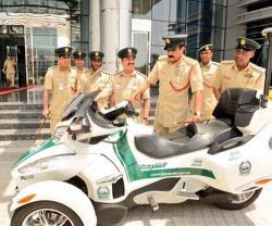 "Dubai Police Adds ""Superbike"" to its Luxury Car Fleet"