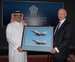 AEC Named Typhoon Avionics Repair Agent in Saudi Arabia