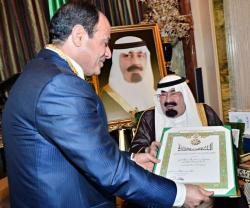 Egyptian President Pays 1st Official Visit to Saudi Arabia