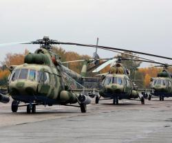 Russian Defense Ministry Receives Mi-8MTV-5-1 Helicopters