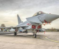 Typhoon Fitted with MBDA's Brimstone Missile for 1st Time