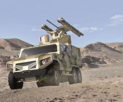 MBDA, NIMR Unveil HAFEET Air Defense Vehicle