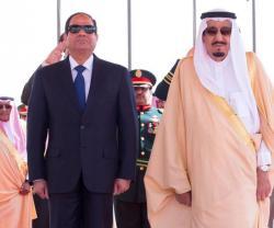 Saudi King, Egyptian President Discuss Arab Army