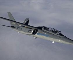 Textron AirLands Scorpion En Route to Paris Air Show
