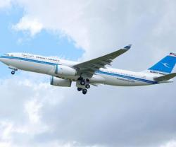 Kuwait Airways Receives First A330-200