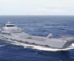 Royal Moroccan Navy Orders LCT Landing Craft Tank from PIRIOU