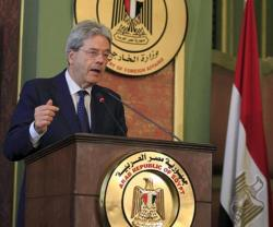 Italy Vows to Back Egypt Fight Terrorism