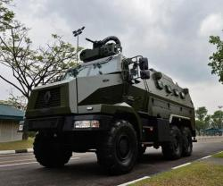 The RTD Higuard Enters Service with Singapore's Army