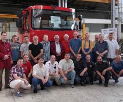 First Assembled Fire Truck Under RENAULT TRUCKS DEFENSE-RABA Contract