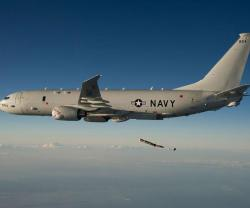 Boeing Wins $1.49 Bn Order for 13 P-8A Poseidon Aircraft