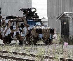 Saab Unveils New Barracuda Mobile Camouflage Systems for Urban Warfare