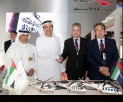 Abu Dhabi Aviation to Acquire 15 AgustaWestland Helicopters