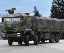 Iveco Defence Vehicles Supplies Protected Military Trucks to Germany