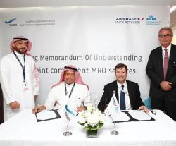 SAEI, Air France Industries KLM E&M to Set Up Joint Component MRO Services