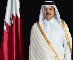 Qatar's Emir Meets Heads of Military Colleges