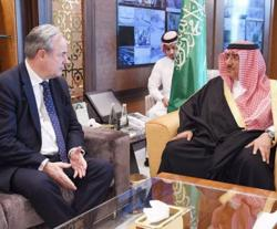 Saudi Crown Prince Receives British Parliament Defense Head