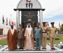 Dubai Crown Prince Attends Police Officers Graduation