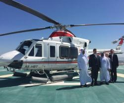 Bell Helicopter, Abu Dhabi Aviation Celebrate 40 Years of Collaboration