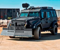INKAS® Unveils New Generation Sentry Armored Personnel Carrier