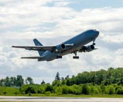Boeing KC-46 Program's Second 767-2C Aircraft Completes First Flight
