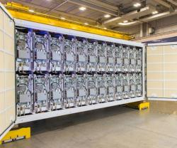 Raytheon Starts Delivery of Railgun Pulse Power Containers