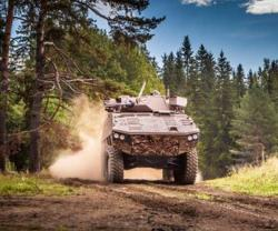 Patria Introduces New Technology at IDEX 2017