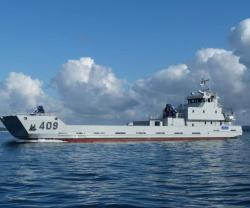 PIRIOU Delivers LCT Landing Craft to Moroccan Navy