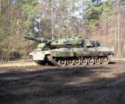 Saab Receives New Order for KMW Leopard 2 Tank