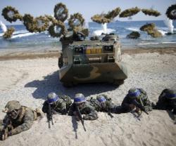 South Korea, US Start Joint Amphibious Drill