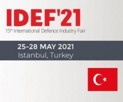 15th International Defence Industry Fair (IDEF'21)