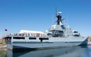 "Bahrain Receives ""RBNS Al-Zubara"" Patrol Warship"