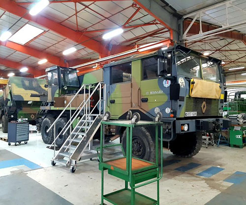 2020: An Exceptional Year for Arquus' Industrial Repair Activities
