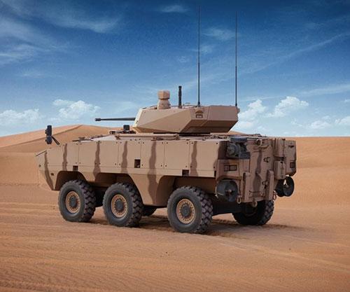 AL JASOOR Launches Rabdan 6x6 Infantry Fighting Vehicle at IDEX 2021