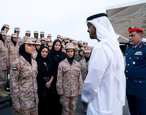 Abu Dhabi Crown Prince Meets Women Peacekeeping Delegation