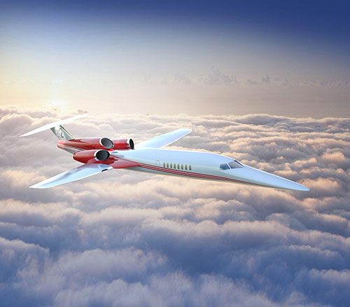 Aerion Selects Collins Aerospace for AS2 Supersonic Business Jet