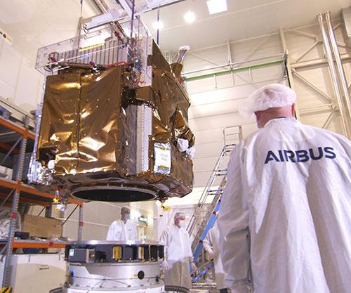 Airbus-Built Pléiades Neo Satellites Arrive in Kourou for Launch