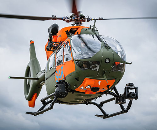 Airbus Delivers 7th H145 for German Armed Forces' Search & Rescue Service
