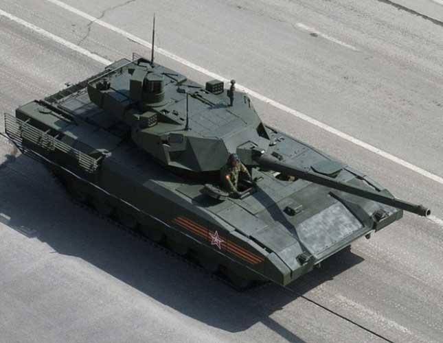 Surveillance Drones to Equip Armata Combat Vehicles